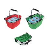 Folding Waterproof Shopping Basket