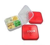 Four Compartment Pill Box