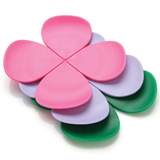 Four Leaf Clover Silicone Coaster