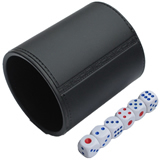 Funny Bar Custom Dice Cup;Dice Cup With Bottle Opener