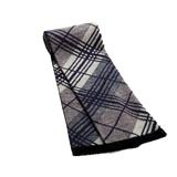 Gentleman Classic Stripe Grid Scarf