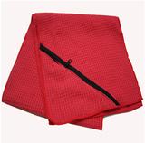 Gym Towel with Zipper Pocket