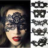 Halloween Costume Party Mask Ladies' Lace Mask