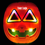Halloween Pumpkin Mask With Flashlight