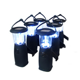 Hand Generator System Rechargeable LED Solar Camping Lamp