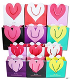Heart Paper Gift Bags
