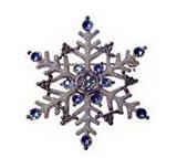 Holiday Ornament - SNOWFLAKE