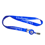 Lanyard With Retractable Helix Badge Holder