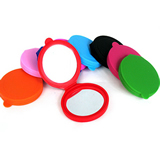 Lovely Potable Silicone Makeup Mirror For Girls