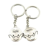 Metal Tag Lover Keychain