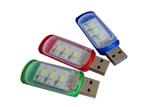 Mini Portable USB 3 LED White Light Night Lamp Camping Readi