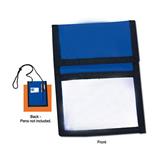 Nylon Neck Wallet Custom Badge Holder