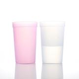 Plastic 16oz Mood Stadium Cup;Colorful Custom Mug