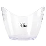 Plastic Ingot Style Ice Bucket