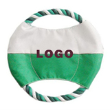 Popular Design Colorful Funny Cotten Dog Flying disk Toy