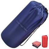 Portable Fleece Blanket With Pouch