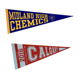 Promotional Fabric Pennant Flags, Triangle Flag, Flying Flag