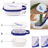 Promotional Multi-function Kitchen Food Knife Cutting