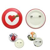Round Button Badge