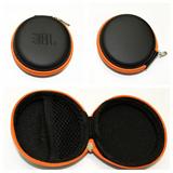 Round Earphone Case/Gadget Pouch