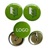Round Tinplate Badge