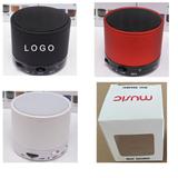 Round Wireless Bluetooth Speaker