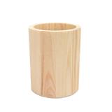 Round Wood Pen Holder