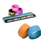 Rubber Slap Bracelet