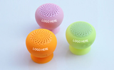 Silicone Bluetooth Mushroom Speaker With Phone Stand