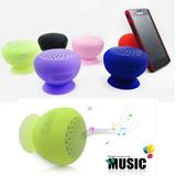 Silicone Mushroom Bluetooth Speaker