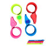 Silicone Slap Whistle Bracelet