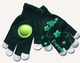 Spirit Clakkers Touch Screen Kintted Gloves