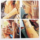Temporary Waterproof Tattoo Stickers, Tattoo Jewlery