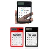Touch Transparent Solar Calculator
