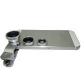Universal Clip Fisheye Wide Angle Macro 3 in 1 Lens for Mobi