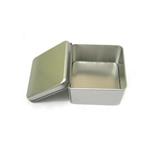 White Square Empty Tin