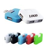 Wholesle Square Mini 4 Ports USB High Speed HUB