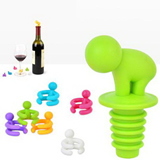 Wine Stopper and Cup Holder Companion