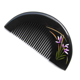 Wooden Comb;Carved Wooden Comb